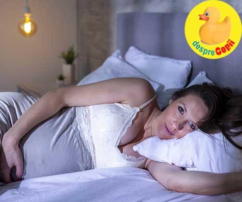 Odihna și somnul in sarcina - jurnal de sarcina