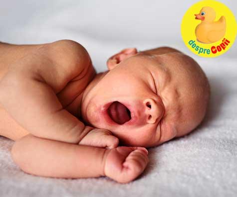 Programul de somn al nou-nascutului: la ce sa ne asteptam si DIAGRAMA de somn