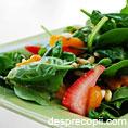 Salata de spanac si fructe