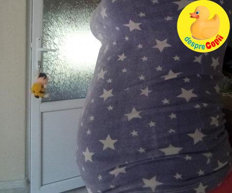 Sperietura in saptamana 18 - jurnal de sarcina