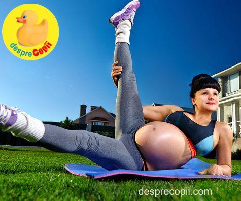 Sportul in timpul sarcinii - iata ce e bine si ce nu