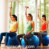 4 beneficii majore de sanatate pentru bebelus cand mama face sport si miscare in timpul sarcinii width=