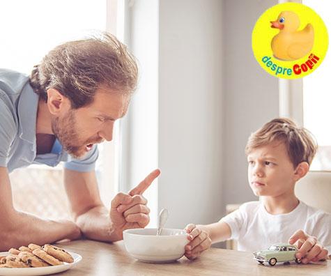 Cate NU-uri aude copilul tau in fiecare zi?