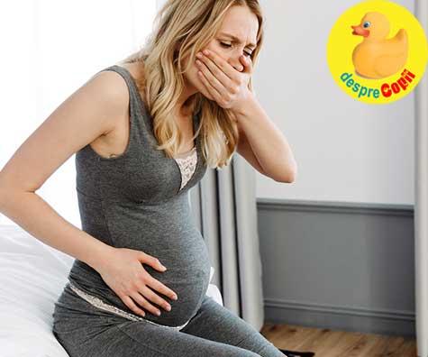 Momente neplacute in sarcina - jurnal de sarcina