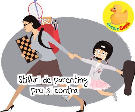 Stiluri de parenting: pro si contra unor tipologii de educatie a copilului