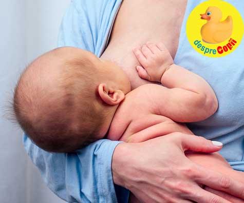 Greseli in alaptare: te bazezi pe suplimentele de stimulare a lactatiei