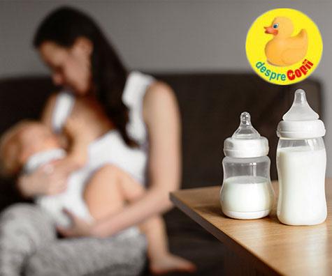 Stocarea laptelui matern: 6 lucruri importante de stiut