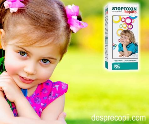 Protejeaza ficatul copilului tau cu Stoptoxin