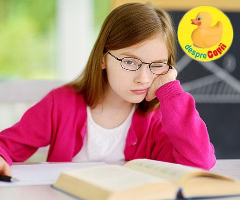 Cauzele stresului și durerilor de cap în rândul elevilor