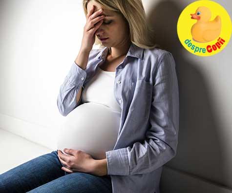 Nivelul de stres al mamei poate modela creierul fatului