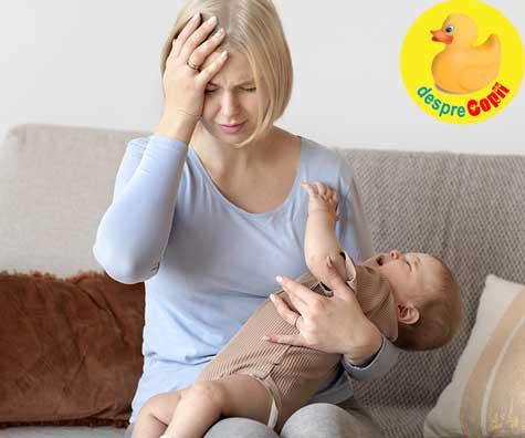 Greseli in alaptare: ignorarea stresului matern sau a depresiei postpartum