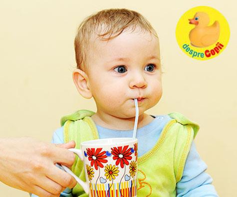 Sucul de fructe nu are nici un aport nutritional pentru bebelusi