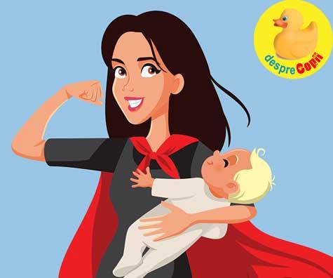 Super-puteri de mamica - jurnal de sarcina