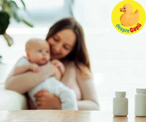 Greseli in alaptare: Nu continui sa iei vitamine prenatale
