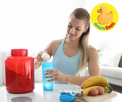 Adolescentii si suplimentele de proteine - o problema pentru sanatate?