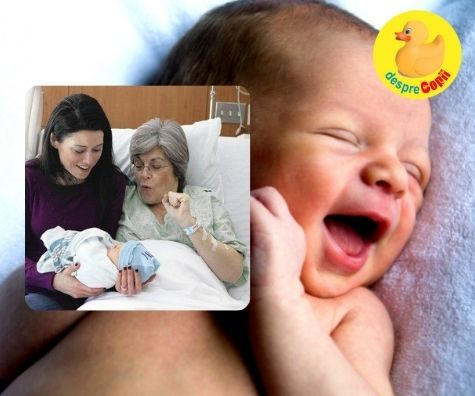Nu putea ramane insarcinata iar mama ei, la 61 de ani i-a nascut copilului: povestea unui surogat in familie
