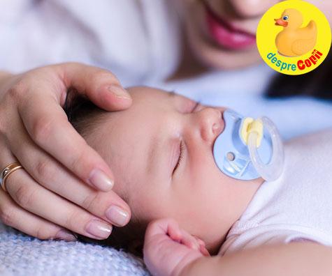 Suzeta poate salva viata bebelusului