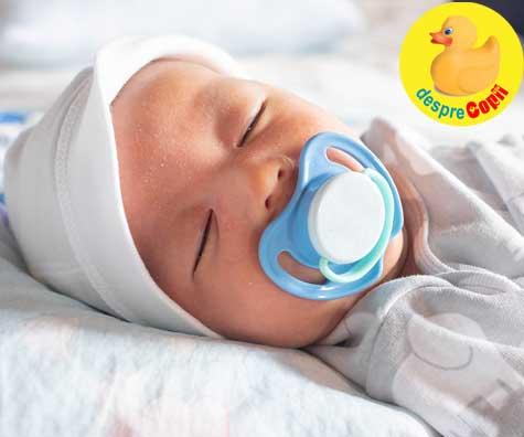 Decizii importante de luat pentru copil inainte de nastere: gandeste-te daca vei oferi sau nu suzeta bebelusului