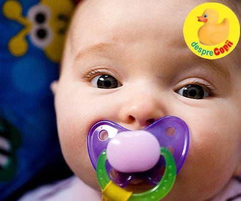 Suzeta si otita bebelusului - iata ce legatura este intre ele