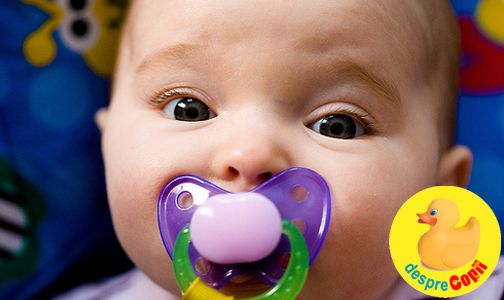 Suzeta si infectiile la urechi ale bebelusului: ce legatura este