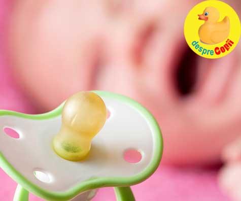 Principiile practice ale suzetei  - iata ce trebuie sa stii pentru a o face un obiect util bebelusului