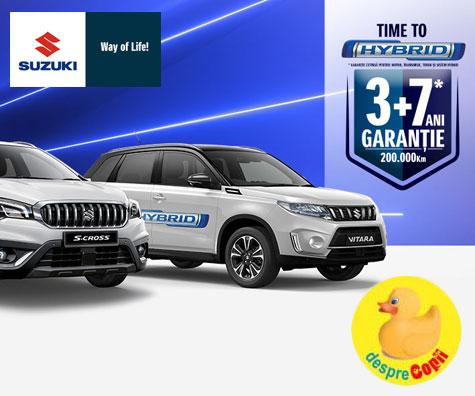 Suzuki isi extinde gama de modele hibrid - Time to Hybrid!