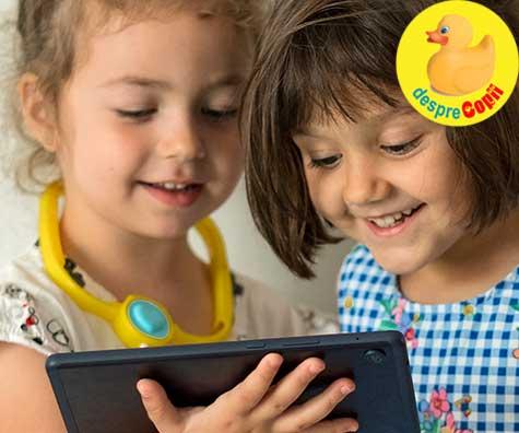 Huawei MatePad T8 este o tableta perfecta pentru intreaga familie. Review-ul unei mamici redactor la Desprecopii.
