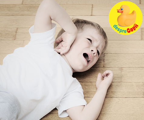 Tantrumul copilului: legatura cu genele mostenite