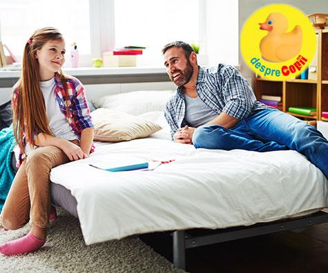 7 lucruri la care sa te astepti daca esti tata de fata adolescenta