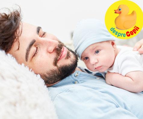 5 reguli pentru taticii de bebelusi sau OPERATIUNEA BSPBA