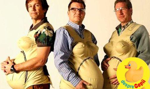 Cum ar suporta barbatii sarcina?