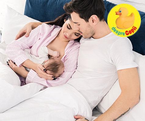 Ce cred tatii cu adevarat despre alaptarea bebelusului