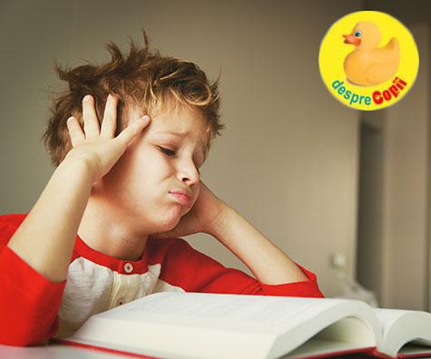 Pot temele pentru acasă provoca dureri de cap copiilor?