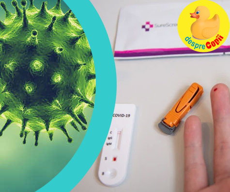 Testul care iti spune daca ai avut coronavirus - testul de anticorpi a fost lansat