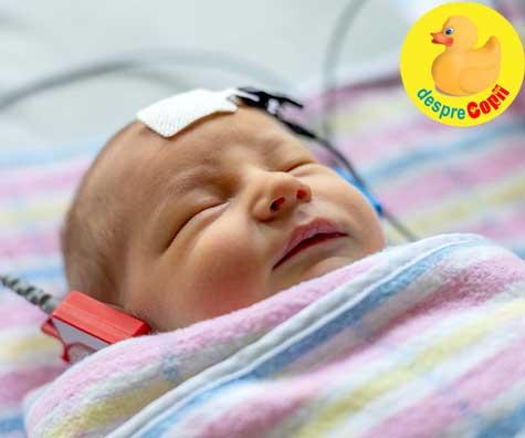 Decizii importante de luat pentru copil inainte de nastere: testul audiologic al nou nascutului in primele 48 de ore
