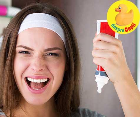 Testul de sarcina cu pasta de dinti. Noi l-am testat - iata ce am aflat