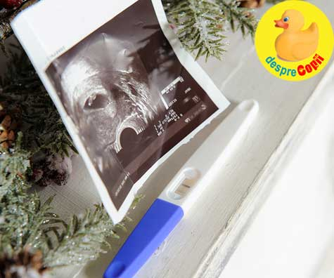 Cel mai frumos cadou de Craciun: un test pozitiv - jurnal de sarcina