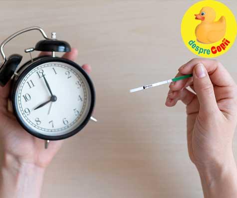 Ce este un test de sarcina fals negativ si de ce se intampla asta?