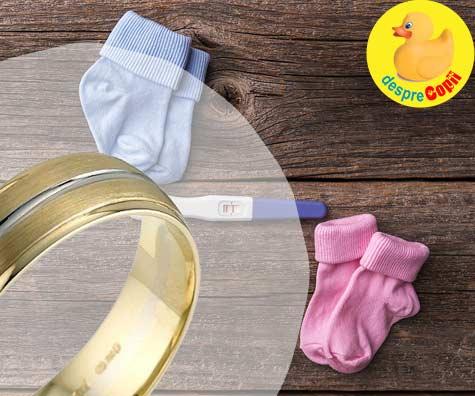 Testul inelului pentru aflarea sexului bebelusului  - iata cum se face si cum se interpreteaza