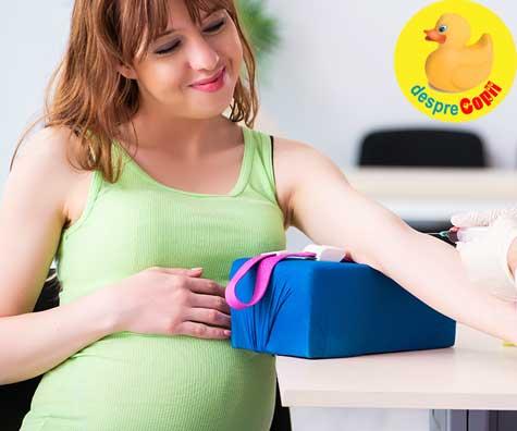 Testul Panorama in saptamana 13: probleme, emotii si rezultate - jurnal de sarcina