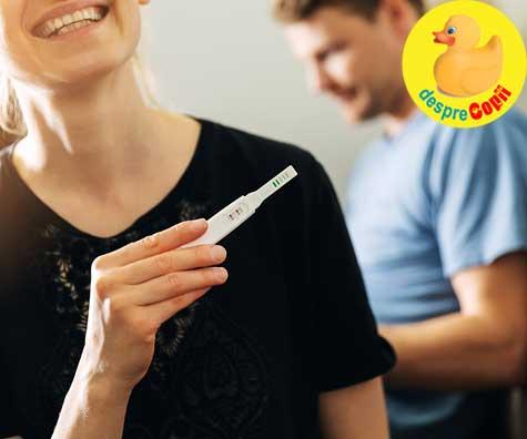 Dupa ani de lupta cu infertilitatea avem un test pozitiv - jurnal de sarcina