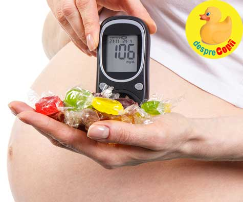 Testul de toleranta la glucoza, experienta mea - jurnal de sarcina