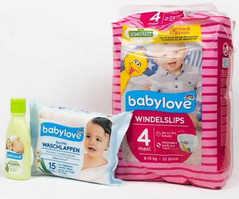 Testare produse dm babylove