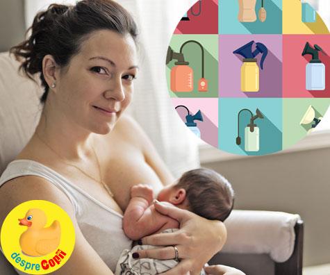 Am testat pompele de san: cele mai bune pompe de san pentru alaptarea bebelusului - sfaturi si recomandari