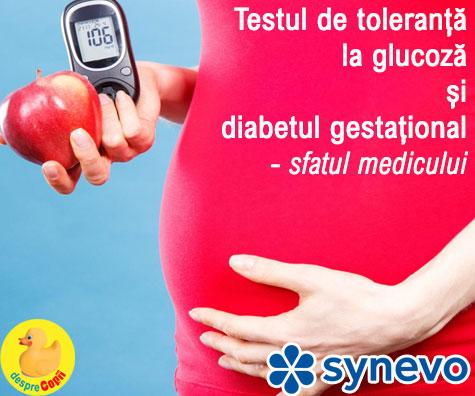 Testul de toleranta la glucoza pentru depistarea diabetului gestational in sarcina: sfatul medicului (VIDEO)