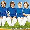2000 de mici fotbalisti au pus la incercare sosetele albe