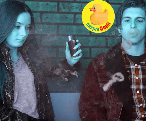 Cum vorbim cu adolescentii despre tigari electronice (vaping,vapare)