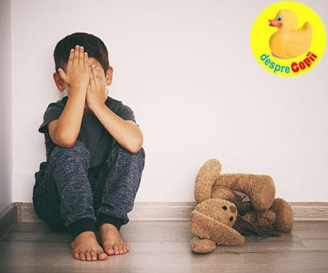 Metoda time-out in disciplinarea copilului: argumente pro si contra