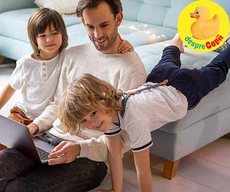 Cat timp petrecem cu copiii nostri? Conteaza calitatea sau cantitatea?