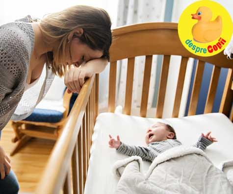 Tiparele de somn ale bebelusilor pot fi provocatoare dar iata de ce nu ar trebui sa disperati, dragi mamici!